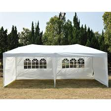 best choice s 10x10ft outdoor portable lightweight folding instant pop up gazebo canopy shade tent w adjule height wind vent carrying bag