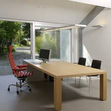 Contemporary Office Interior Design Ideas Enchanting Bright Garage Redesign Idea Creating Modern Home Office With Sliding