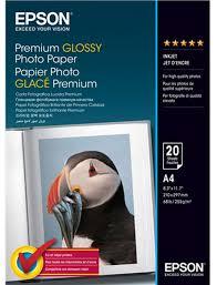 <b>Фотобумага Epson Premium Glossy</b> Photo, глянцевая, A4, 20 листов