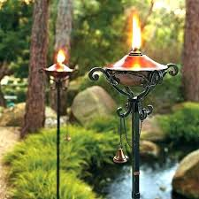 outdoor oil lamps torches citronella oil candle lamp oil lamp oil copper garden party torch lights