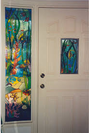 princeville hawaii custom stained glass window