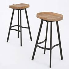 Christopher Knight Home Silas Pinewood Swivel <b>Barstools</b>, <b>2</b>-<b>Pcs</b> ...
