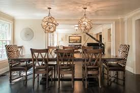 unique dining room light fixtures. Good Looking Extendable Dining Table In Room Beach Style With Next To Stained Oak Flooring Alongside Cool Chandeliers And Orb Unique Light Fixtures