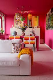 my living room is in the pink thanks to histor fuchsia more
