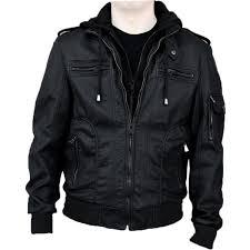 Discount Designer Mens Leather Jackets Details About Rnz Premium Designer Mens Faux Leather Jacket M6 Black