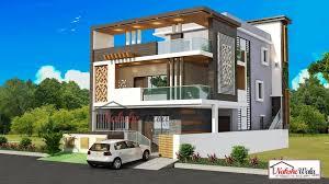 Building Elevation Designs For Double Floor Double Storey Elevation Kerala House Design House Plans