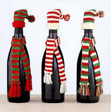 crafts with wine bottles