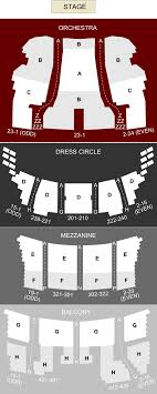 Cibc Seating Chart With Seat Numbers Cibc Theatre Chicago Il Seating Chart Stage Chicago