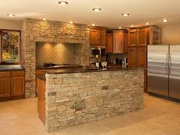 stone kitchen backsplash. Natural Stone Kitchen Backsplash Peerless Faced Island With Subway For Also Black Granite