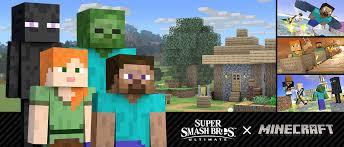 Minecraft joins <b>Super Smash Bros</b>. Ultimate | Minecraft