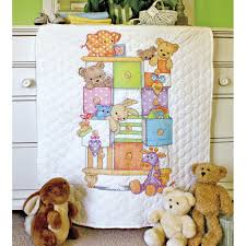 Dimensions® Stamped Cross Stitch Kit, Baby Drawers Quilt &  Adamdwight.com