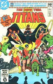 New teen titans covers