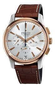 17 best ideas about mens dress watches omega men watches gold zenith men s el primero captain gold and silver dial watch this watch looks great anything from jeans polo shirt to a dress suite the