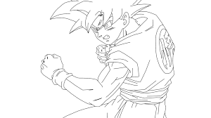 Small Picture Dragon Ball Z Goku Super Saiyan 4 Coloring Pages Coloring Home