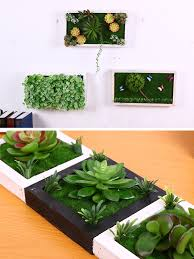 diy home garden hanging plant artificial plant