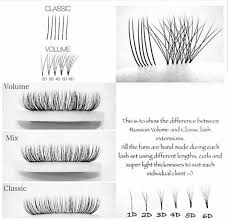 Best Light For Eyelash Extensions Volume Volume Hybrid Classic Eyelash Extensions Whats
