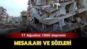 17 Ağustos mesajları ve sözleri: 17 Ağustos 1999 depremi kaç şiddetindeydi,  kaç kişi öldü?