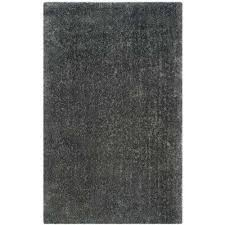 luxe gray 4 ft x 6 ft area rug