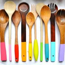 Colorful Cooking Spoon Makeover {Kitchen Accessories}  Pinterest