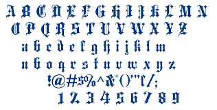 black letter font blackletter fontm