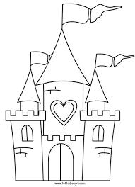 Disegno Castello Coloring Pages Castelli Bambini Disegni