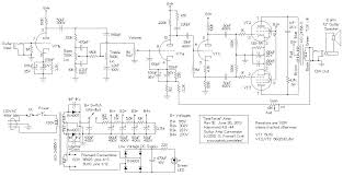 spartacus hammond ao 44 organ to guitar amp conversion spartacus amp schematic