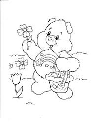 Small Picture Coloring Pages Free Printable Care Bear Coloring Pages For Kids