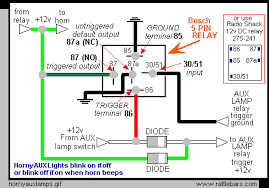 bosch 5 pin relay wiring diagram bosch image bosch relay wiring diagram for horn wiring diagram on bosch 5 pin relay wiring diagram