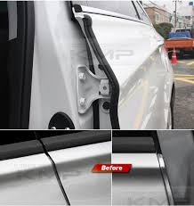 car door auto noise rubber seal strip molding 2pcs for hyundai 2010 2018 tucson ebay