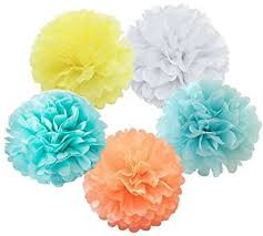 Make Tissue Paper Flower Balls Xsunshine X Sunshine Tissue Paper Flower 10pcs 8 Inch 10 Inch With 5
