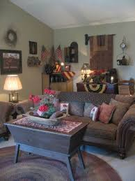Primitive Living Room Ideas