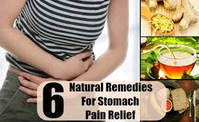 stomach pain relief food