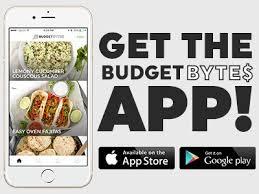 Food Budget App Budget Bytes Delicious Recipes Designed For Small Budgets