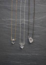 cannella27 gbn59 n905a herkimer diamond necklace