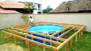 above ground round pool with deck. Exellent Ground Architecture Small Deck For Above Ground Pool Below Pools With Regard To Round  Decks Plans 16