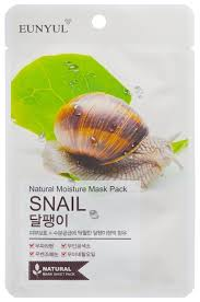 <b>Eunyul тканевая маска</b> Natural Moisture Mask Pack с муцином ...