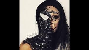 how to spiderman venom tutorial sdeventsworld golden october makeup challenge entry you