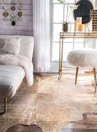 cowhide rug in living room in radiant london today cowhide ikea cow hide rug uk