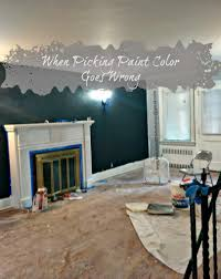 Picking Paint Colors For Living Room When Picking Paint Colors Goes Wrong Beauty And The Bump