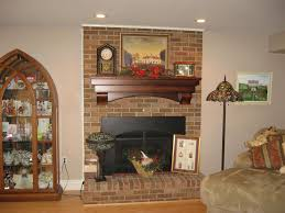 Cheery Ecellent Ideas With Wall With Fireplace Mantels Equisite Decoration  Above Mantel Onsaturdaytourofhomescom Mantel Decorating Ideas