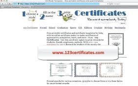 Formal Certificates Certificate Template Formal Maker Online Free Strand Direction