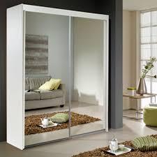 sliding door mirrored wardrobe white only 599 99