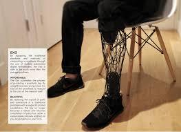 Prosthetic Design Exo Prosthetic Leg On Behance