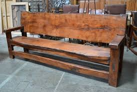 rustic wood bench. Fine Bench Add This Bench To Any Rustic Or Country Indoor Outdoor Setting Give  The Space A Natural And Environmental Feel Description From Demejicocom With Wood Bench H