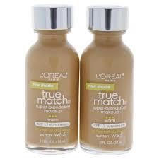 loreal true match super blendable makeup spf 17 w5 5 suntan 1