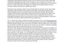descriptive narrative essay example of short descriptive essay descriptive essay writing examples for college students