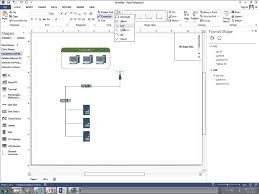 how to create a basic network diagram visio