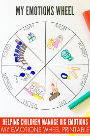 A board game to use for revision of the first lessons' learning. My Emotions Wheel Printable