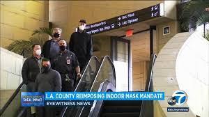 LA County mask mandate comes after ...