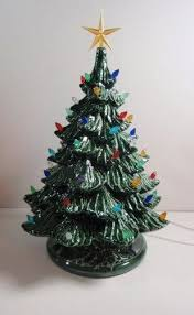 Ceramic Tabletop Christmas Tree With Lights Adorable Ceramic Tabletop Christmas Tree Lighted Electric With Tiny Lights